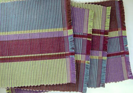cotton handwoven placemats