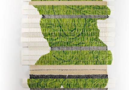 transform #2 wallhanging collagraph with Susan Grabel